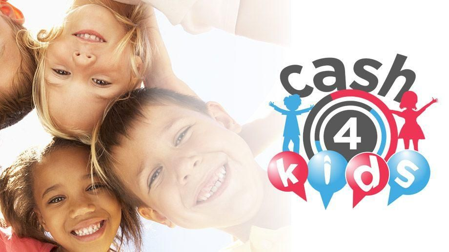 Supporting the Cash4Kids Charity